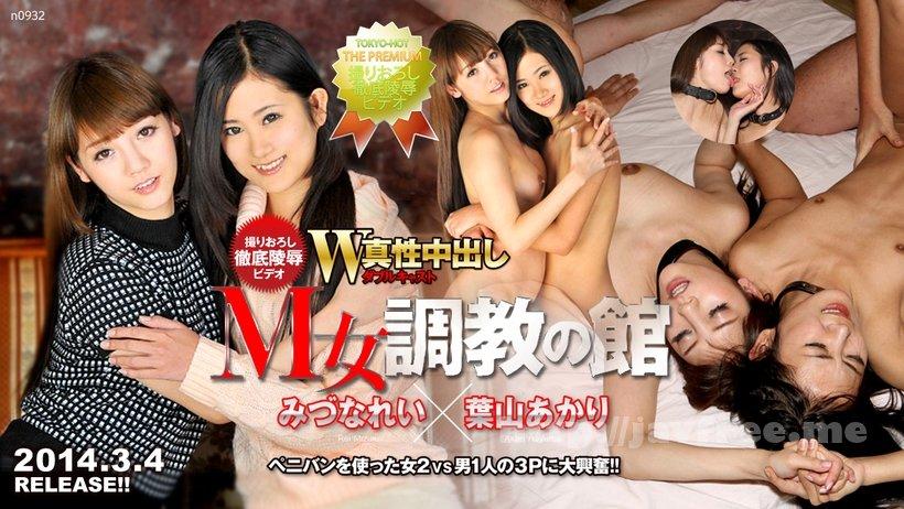Tokyo Hot n0932 W姦みづなれい/葉山あかり