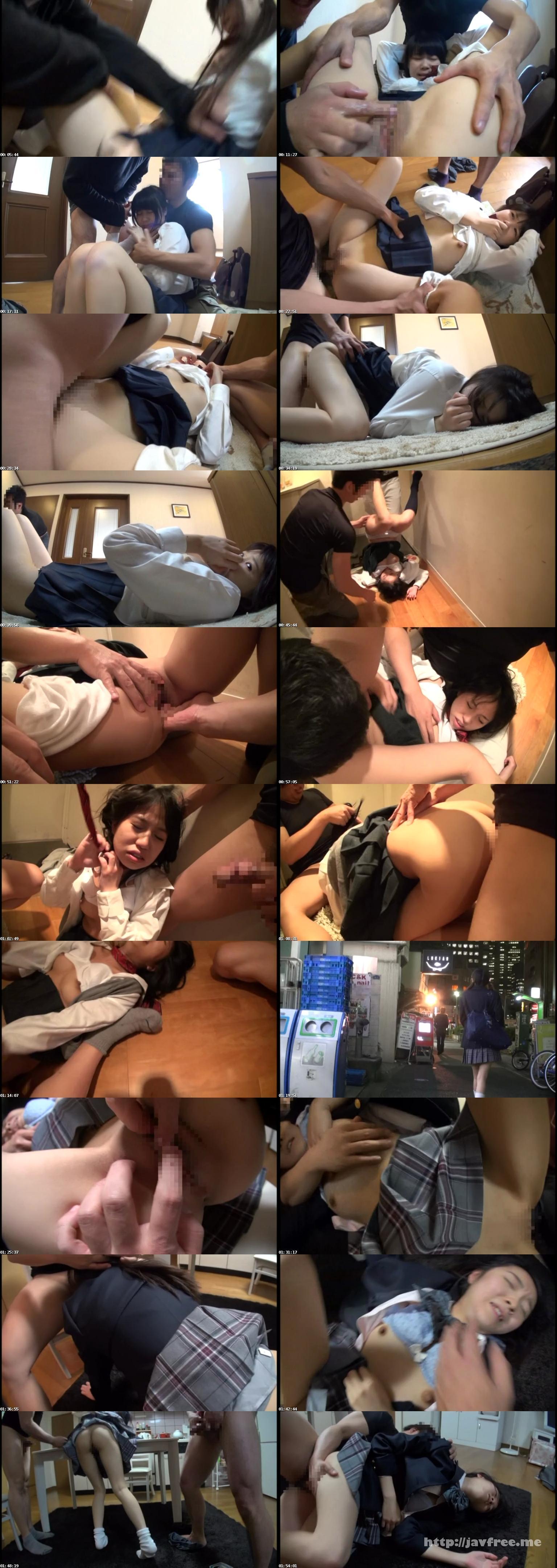 [AOZ 217Z] ストーキングの末自宅に押し込まれて犯される女子校生中出しレイプ AOZ