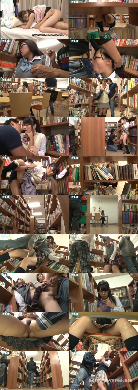 [AP 095] 図書館で何時間も真面目に勉強しているメガネ女子校生に勃起チ○ポ擦り付け痴漢で腰が立たなくなるまで感じさせろ!!!!! AP