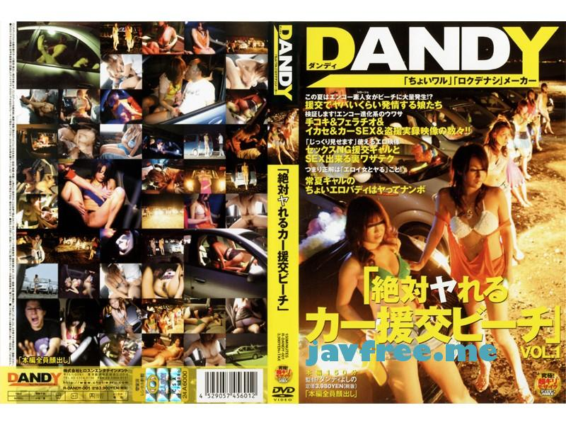 [DANDY 001] 「絶対ヤれるカー援交ビーチ」 VOL.1 DANDY