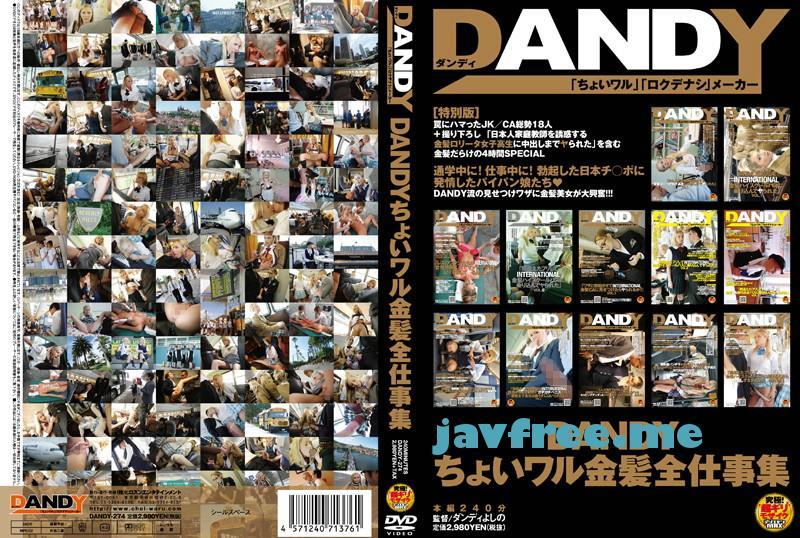 [DANDY 274]  DANDYちょいワル金髪全仕事集 DANDY