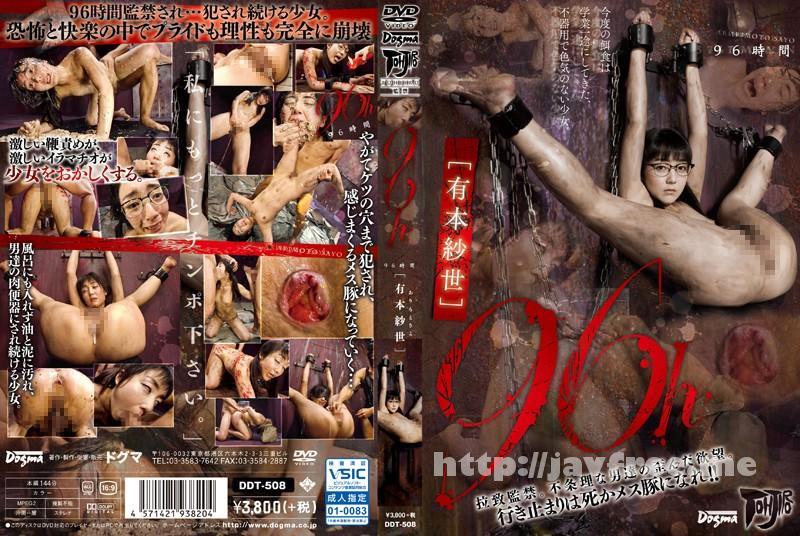 [DDT 508] 96h 有本紗世 有本紗世 DDT