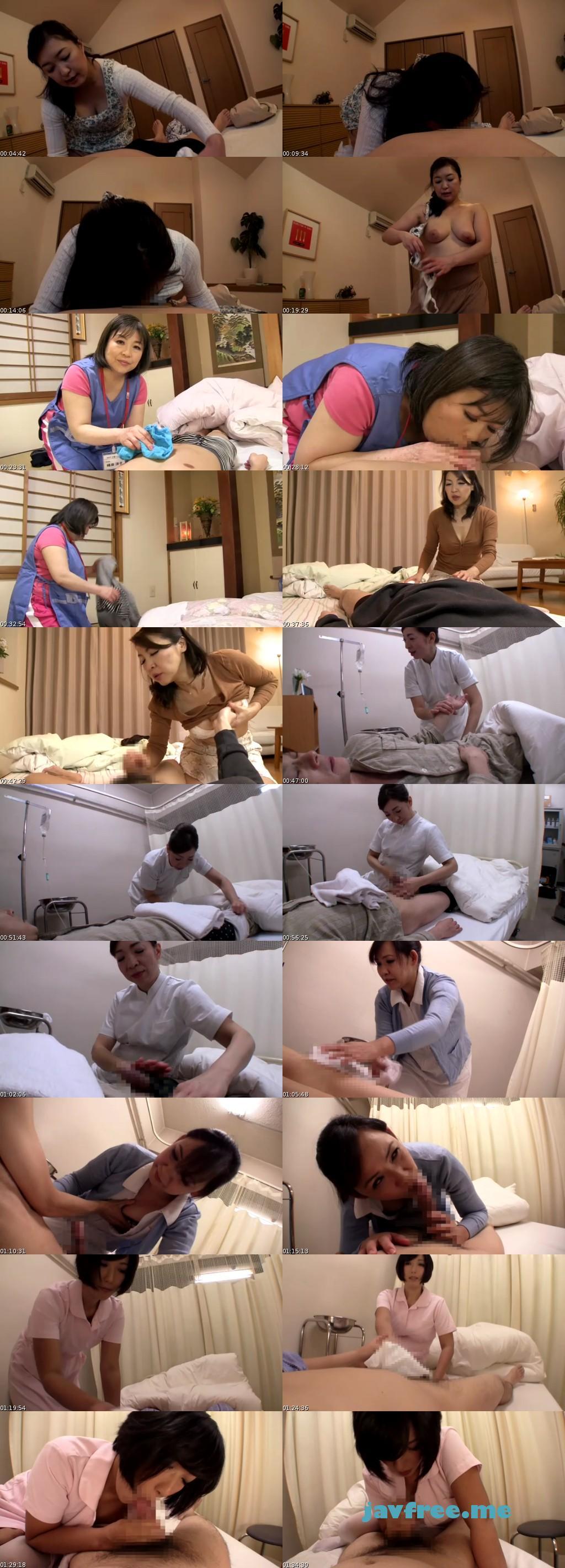 [DMAT 120] 介護のおばちゃんが僕のチ○ポを凝視する… 木戸雅江 峰岸洋子 伊達美佐子 DMAT
