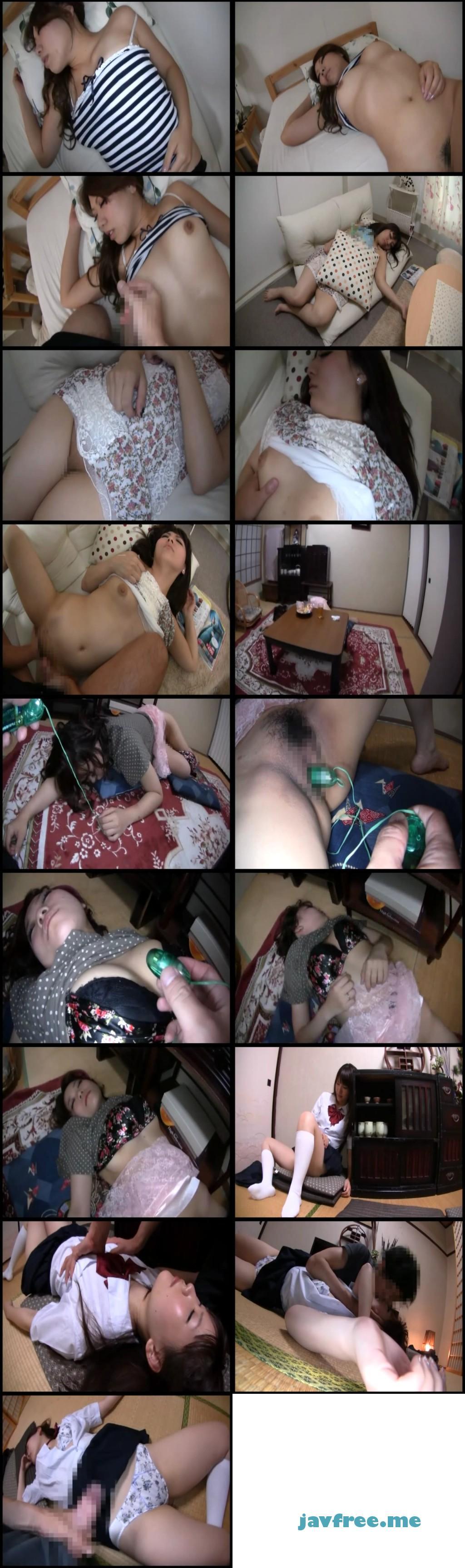 [DMAT 061] 寝ている妹にこっそり射精 DMAT