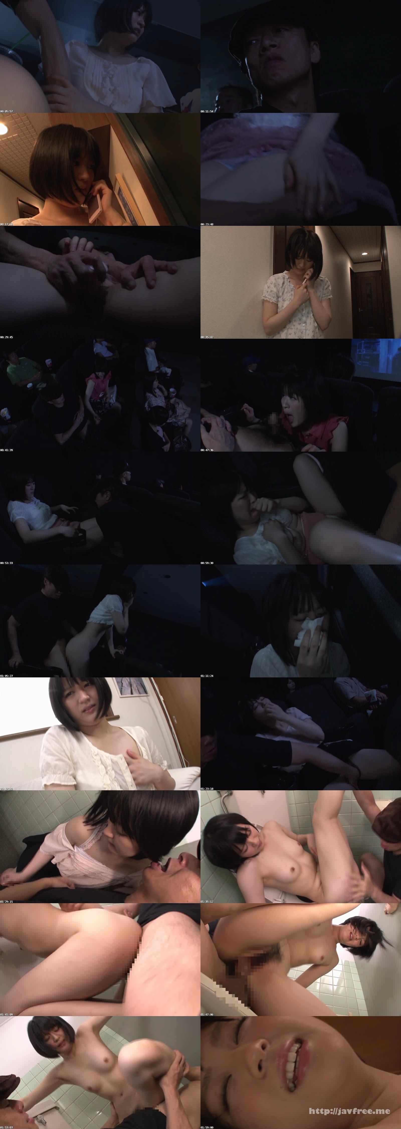 [DV 1680] 映画館痴漢 長澤えりな 長澤えりな DV