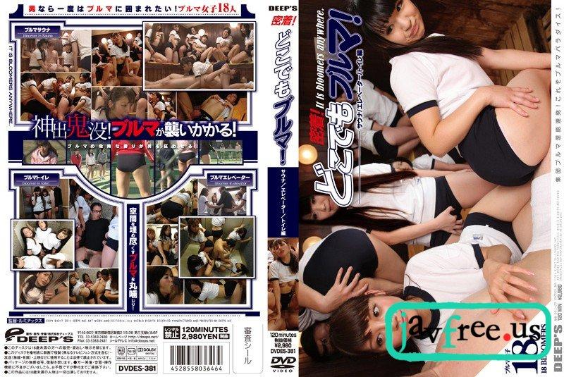 [DVDES 381] 密着!どこでもブルマ! 楓乃々花 大沢つくし みづなれい みずなれい つくし DVDES