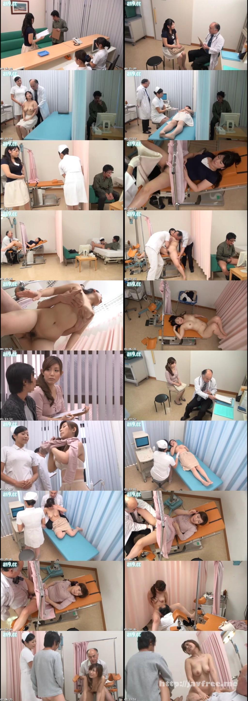 [DVDES 703] カーテンの向こうには寝取られ願望の夫 貞淑な巨乳若妻が何も知らず受診する他人棒セックス検診 DVDES