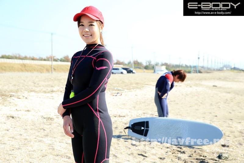 [EBOD 430] 眩しすぎる海の救助隊員 褐色のむっちりHcupボディ 現役美人ライフセーバーAVデビュー! 西条沙羅 西条沙羅 EBOD