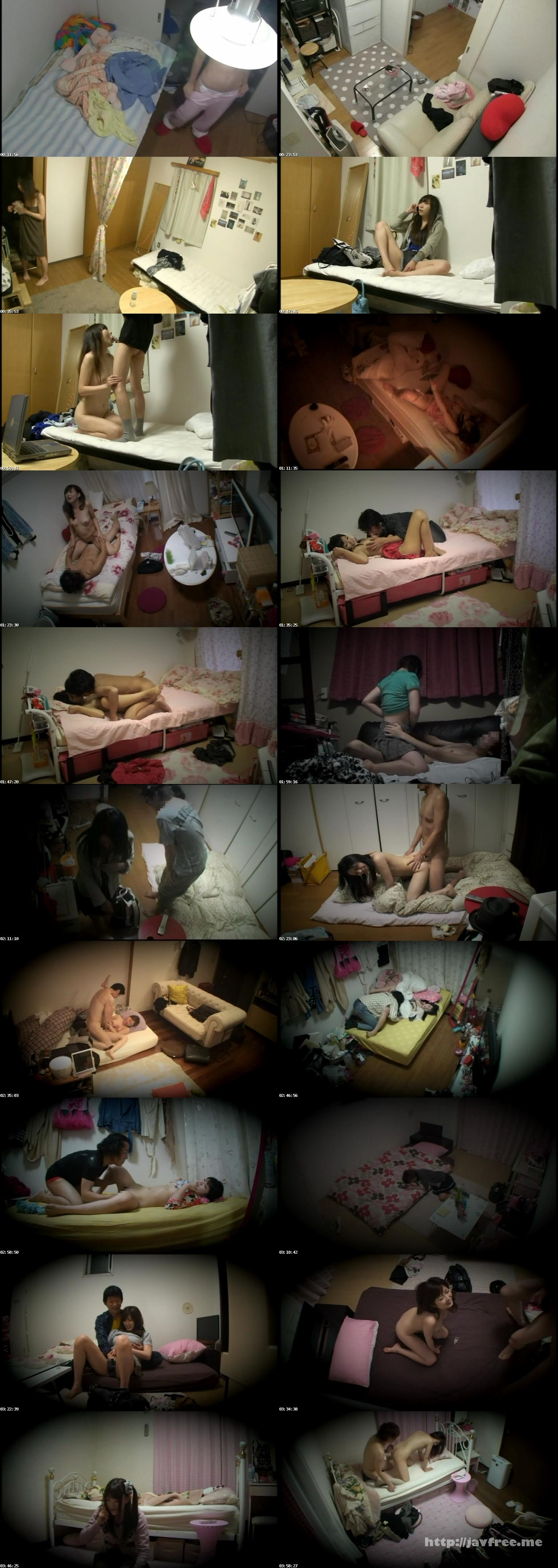 [EQ 202] 覗き見されたシロウトのカラダ 女性宅に仕込まれていた盗撮カメラ回収販売 2 EQ