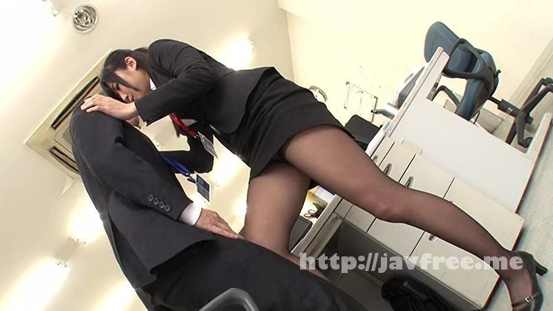 [GS-094] ソソる女子社員がボクに黒パンストを見せつけて勃起させ、逆素股でヌイてくれた!!