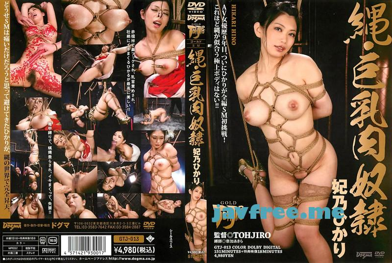 [GTJ 013] 縄・巨乳肉奴隷 妃乃ひかり 妃乃ひかり GTJ