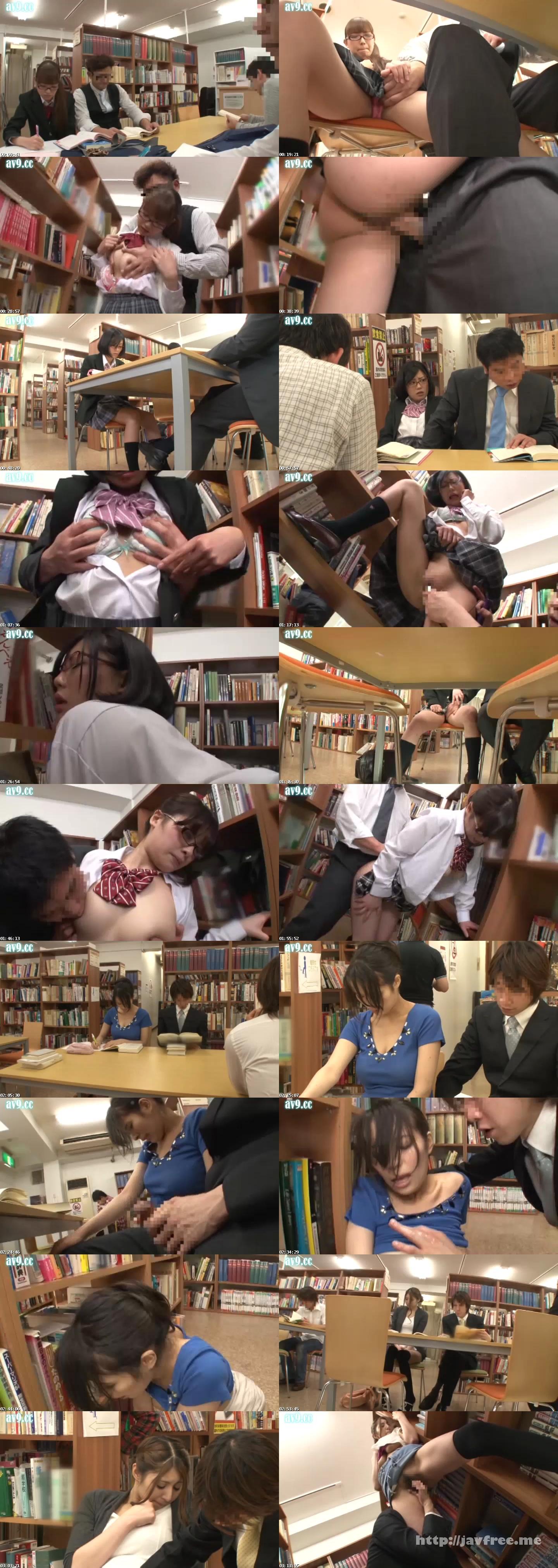 [HUNT 892] 図書館足からませ痴漢 図書館で強引に足をからませても抵抗出来ない気弱まじめ女子に痴漢したら、ビックリするくらい爆濡れになり嫌がるどころか僕を求めて来た! HUNT