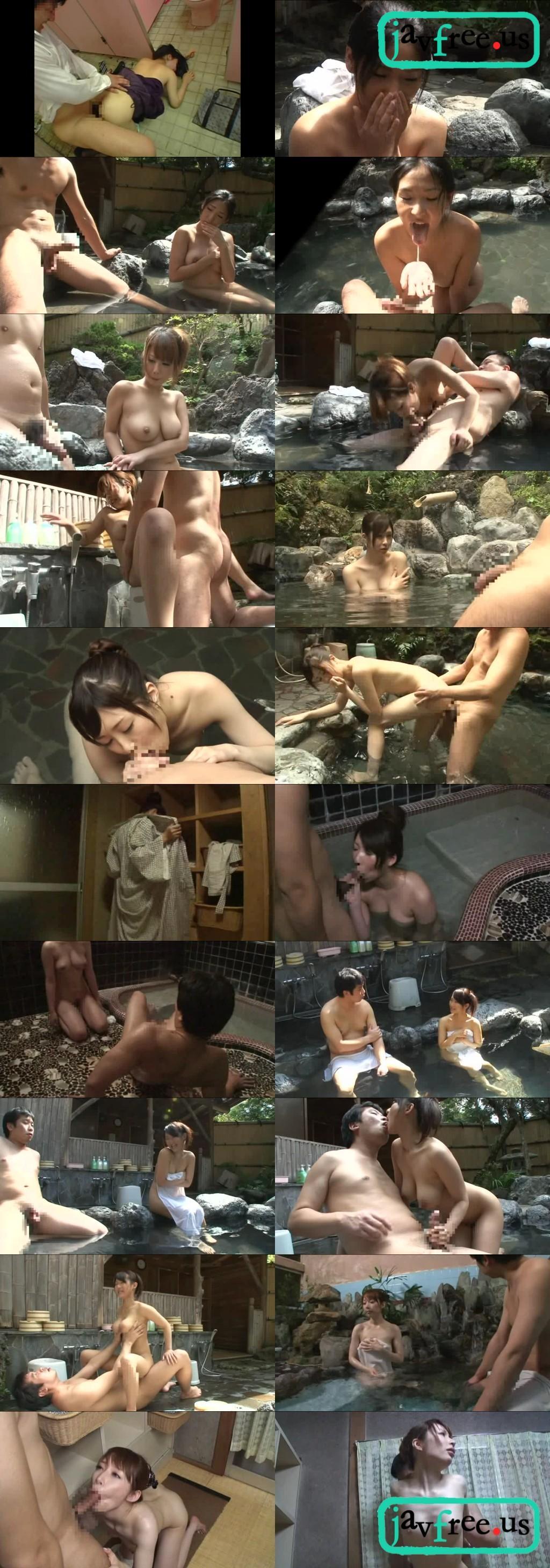 [HUNT 497] 混浴温泉で僕の情けない半勃ち皮かぶりチ◯ポを見た巨乳美女が、その愛くるしい姿に発情して皮を剥いてキレイにしてくれた。 HUNT