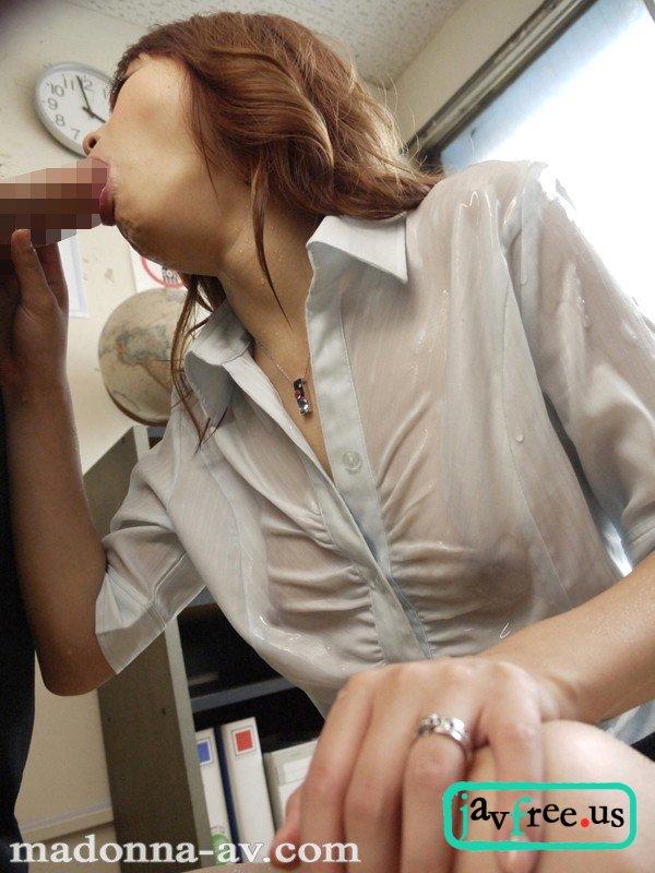 [JUFD 097] 濡れ透け婦人の甘い疼き ~乱れ咲く美人女教師・鈴華~ 石川鈴華 石川鈴華 橘ミオン JUFD