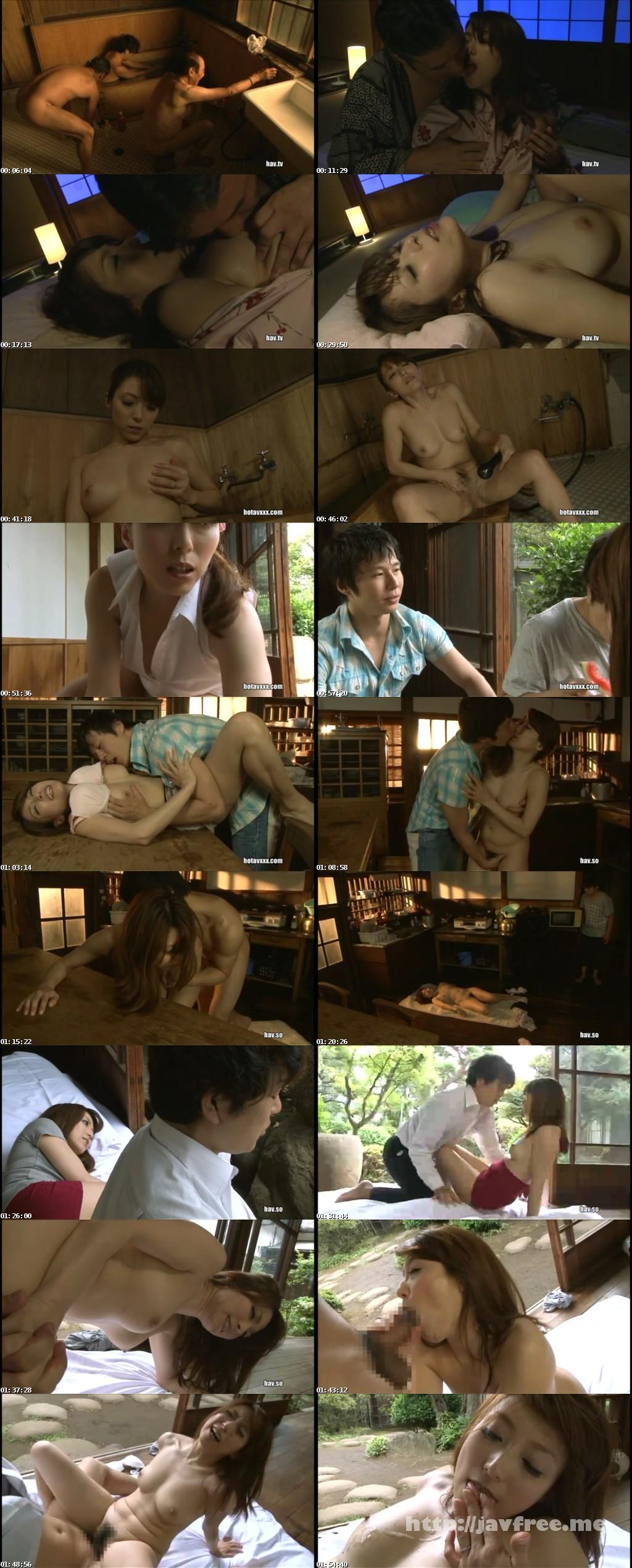 [JUX 174] 帰郷義母 〜真夏に激しく求め合う汗だくの母子〜 白木優子 白木優子 JUX