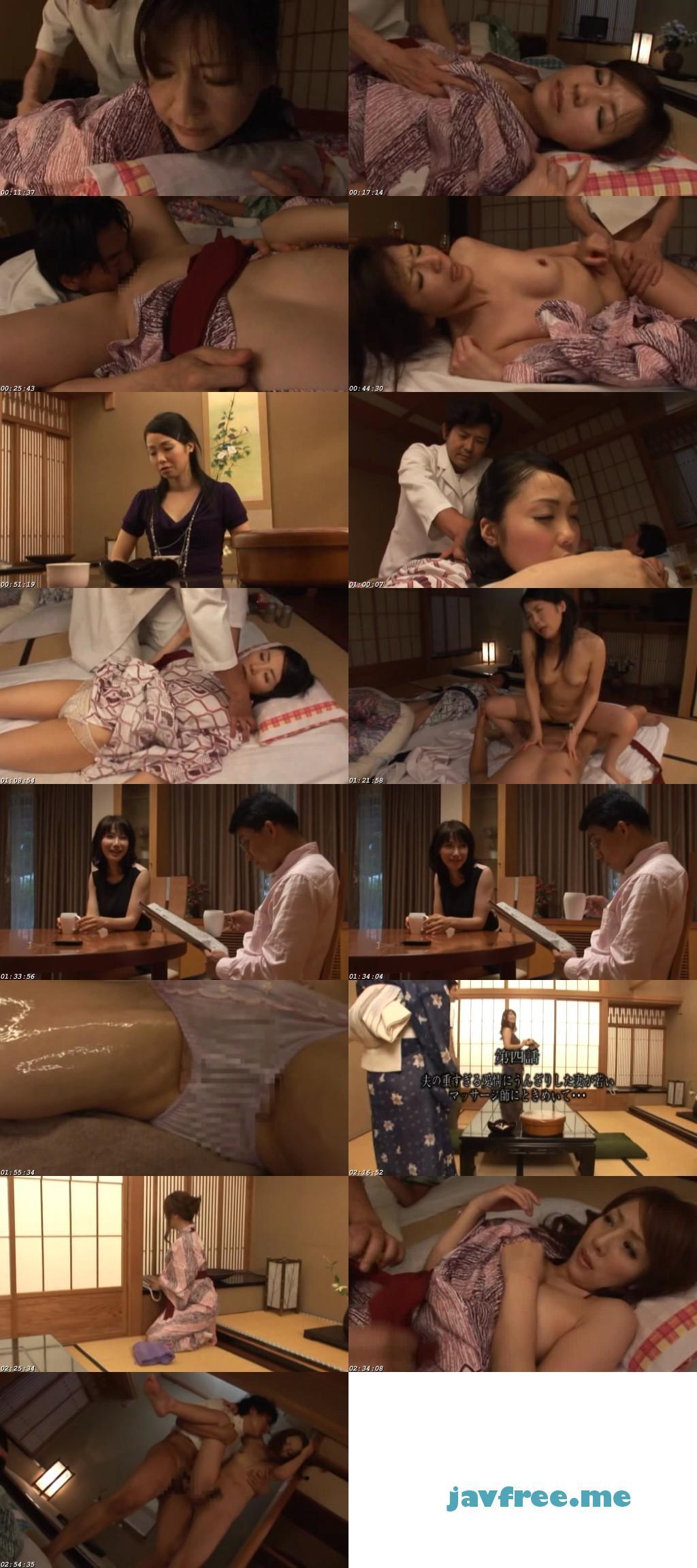 [MAMA 300] 美熟女専門 温泉出張マッサージ 旦那の横で悶える4人の熟女 結城みさ 有沢実紗 折川菜由 上原千尋 MAMA