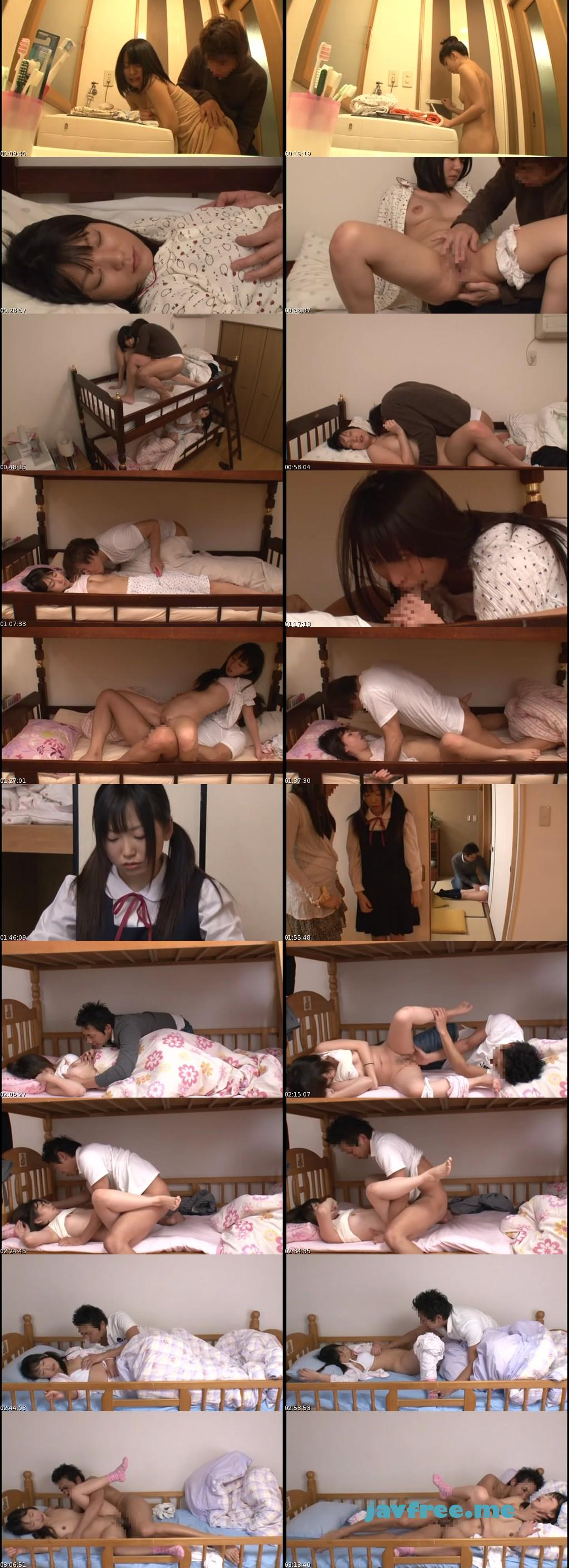 [NHDTA 374] 2段ベッドが揺れるほど感じる姉の喘ぎ声を聞いて発情しだす妹 7 NHDTA