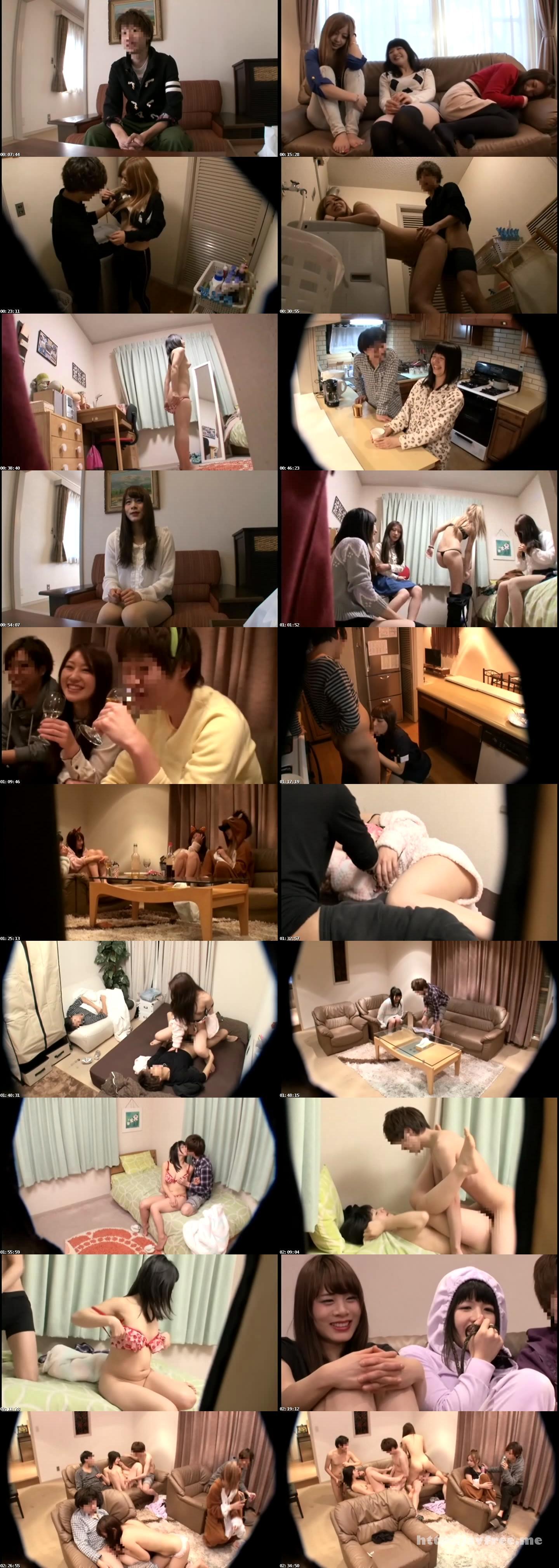 [NHDTA 519] 「悲報」今話題のシェアハウスでは入居者同士のSEXが日常茶飯事だと判明 NHDTA