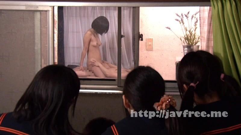 [NHDTA 533] 隣の家のセックスが見える!と妹の友達が僕の部屋に集まり窓際でパンツを濡らして鑑賞会 NHDTA