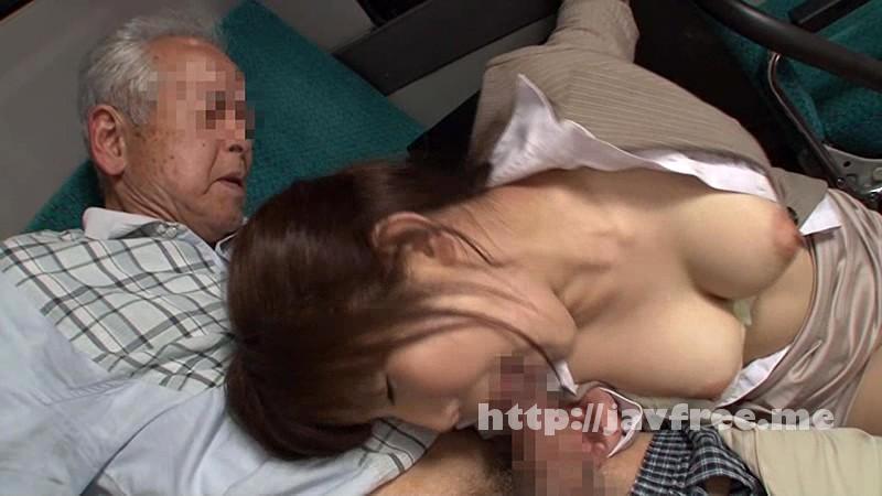 [NHDTA 584] じぃさんの舐め廻し乳揉み痴漢で感じてしまった巨乳女 NHDTA