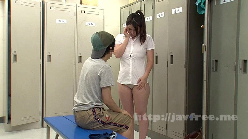 [NHDTA 593] 更衣室でマセガキが仕掛けた媚薬にハマりまたがり好きな本性を現した巨乳女教師 NHDTA