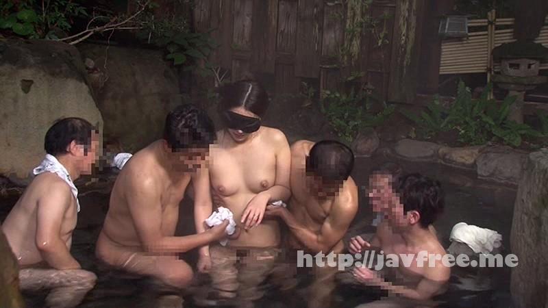 [NHDTA 627] 夫に騙されて…目隠しのまま混浴温泉に放置され誰に触られているかわからないスリルに思わず欲情してしまう美人妻 NHDTA