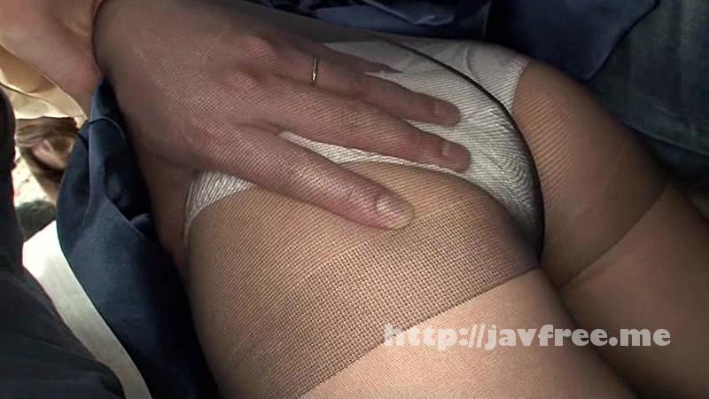 [NHDTA 733] 蒸れたパンストの中に手を突っ込まれ逃げられず指がめり込む程の巨尻揉み痴漢 NHDTA