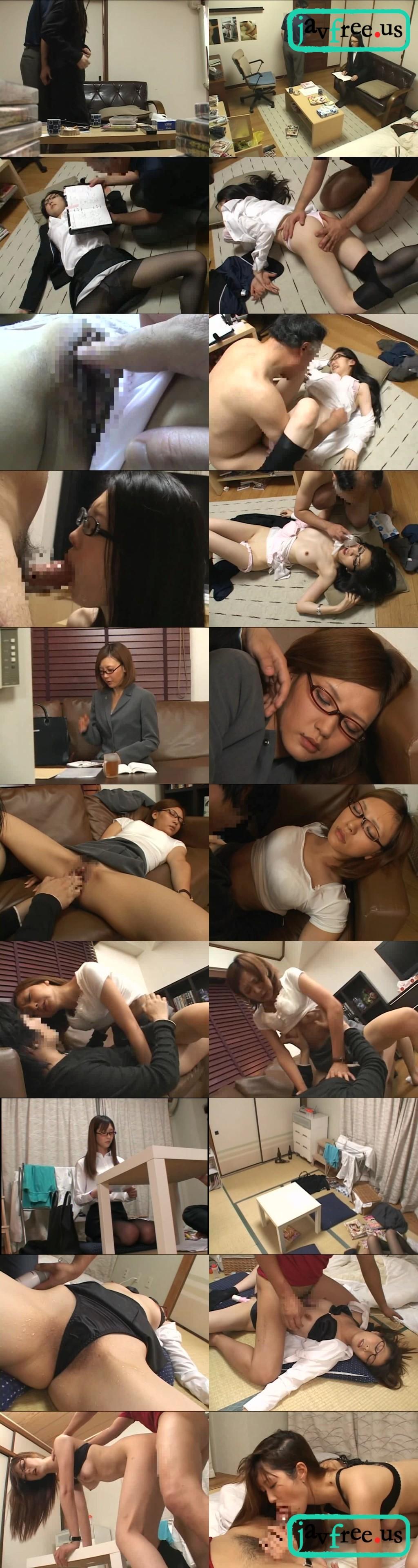 [NHDTA 185] 女弁護士を薬で眠らせている間にハメたら目覚めた瞬間!!!感じまくって焦った NHDTA