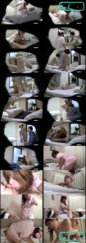 [NURE 002] 勃起する患者さんが大好きです。マジメなフリした痴女ナース NURE