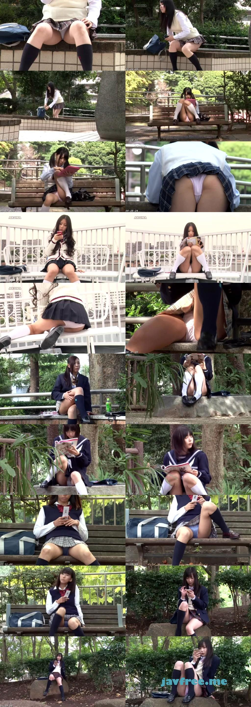 [PARM 009] 外撮り 女子校生にパンチラで挑発されて… PARM