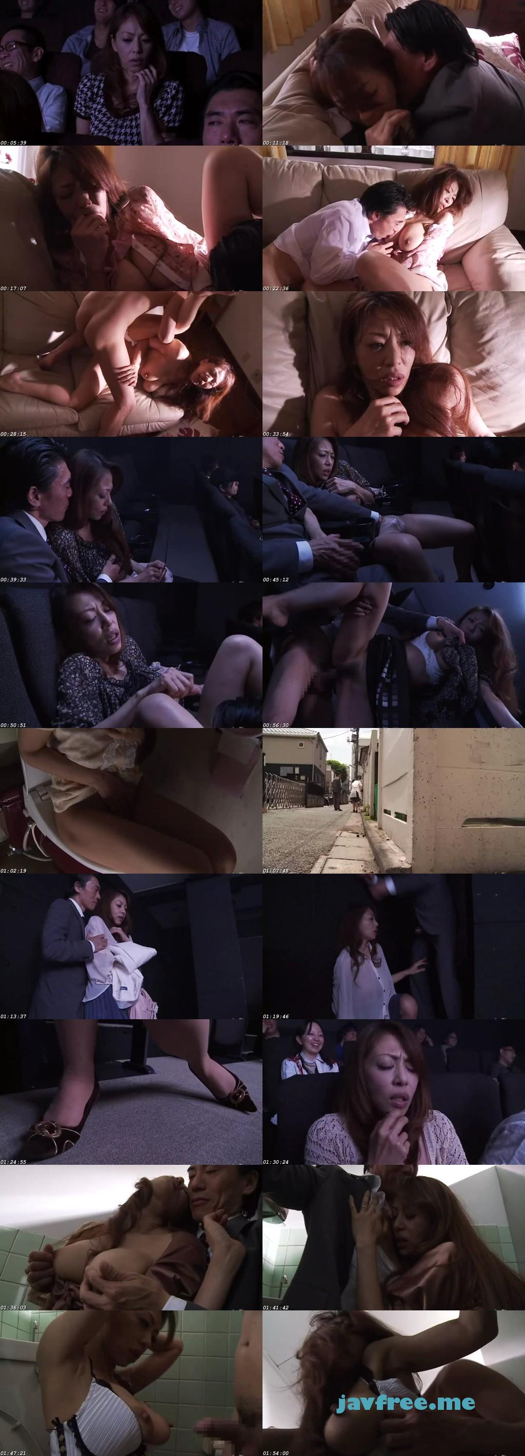 [RBD 438] 痴漢映画館 4 こんな所で…なのに、なのに私ったら…! 麻生早苗 麻生早苗 RBD