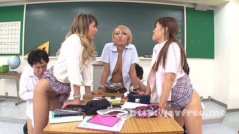 [RCT 758] 黒ギャルビッチ平然女学園 大島ゆず奈 上原花恋 RCT Hikari