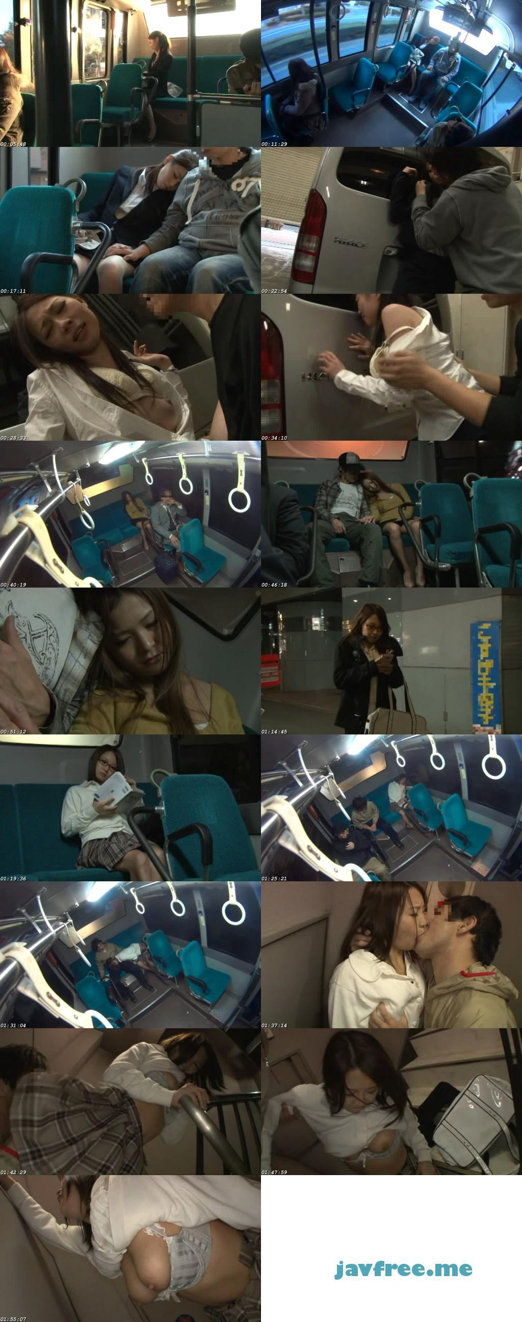 [RDD 139] バスの最後尾で熟睡している無防備な女の隣にそっと近づき寄り添ってみると… 音咲マナ 本城星奈 君嶋千夏 RDD