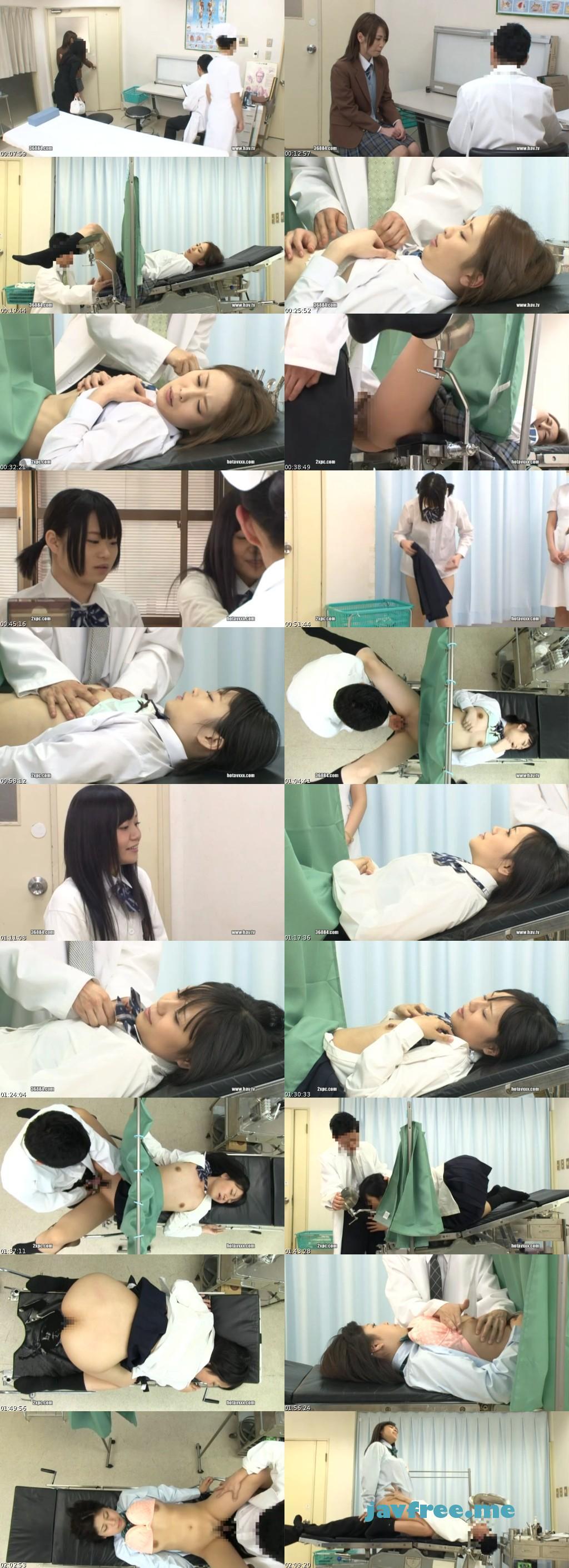 [RTP 002] 初めて産婦人科を訪れた、男をあまり知らないウブな女子校生を診察と偽りマ○コの中を掻き回してやったら、今まで経験した事のない感覚に口を歪め涎を垂らしながら我を忘れて感じだし、自ら腰を動かしてきたので、僕のチ○コでイカせまくってやった!! 皇メイサ 小咲みお 坂下えみり 佐山あづみ RTP