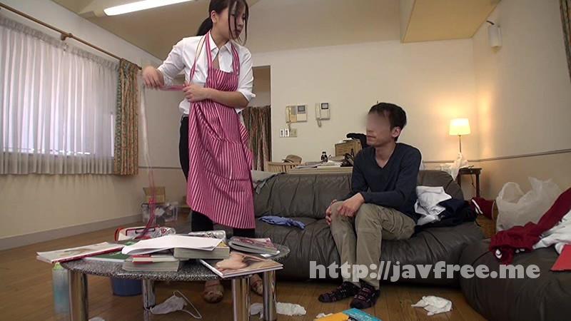 [SCOP 307] 童貞の僕が一人暮らしの部屋に清掃業者を呼んだら、まさかの巨乳女。熱心にカラダを動かし、仕事をしている彼女は汗びっしょり。汗染みで胸の形が更に強調されたTシャツには乳首のプレゼントまで。 2 SCOP