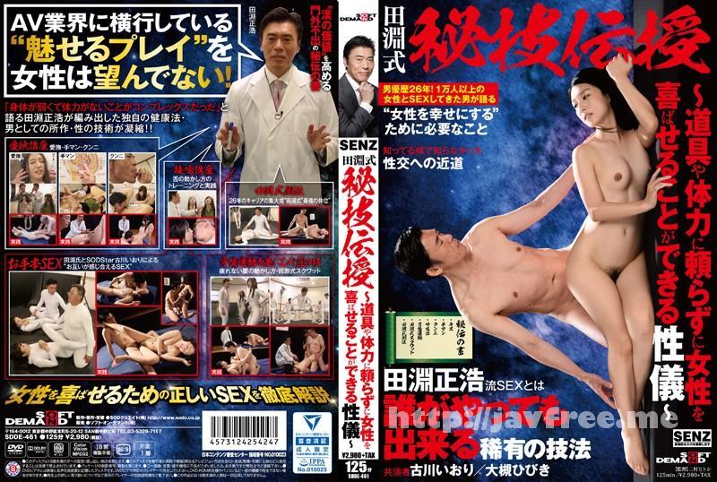 [SDDE-461] 田淵式 秘技伝授 〜道具や体力に頼らずに女性を喜ばせることができる性儀〜