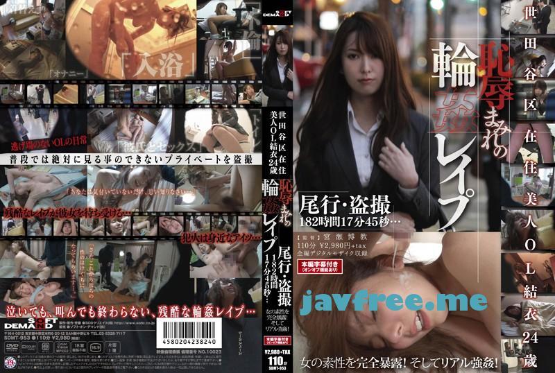 [SDMT 953] 世田谷区在住 美人OL結衣24歳 恥辱まみれの輪姦レイプ SDMT