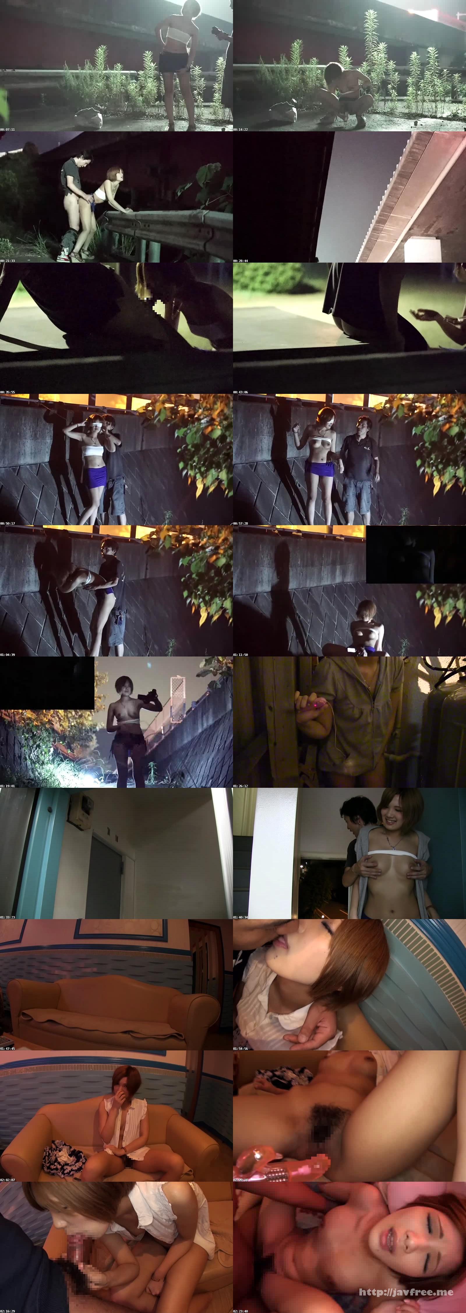 [SEXY 044] ガチ露出 変態交尾 素人変態女連れ回し露出調教 SEXY