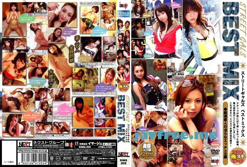 [SIMG 205] STREET GALS BEST MIX 福永あや 松野しほ 南国楓 SIMG AYA