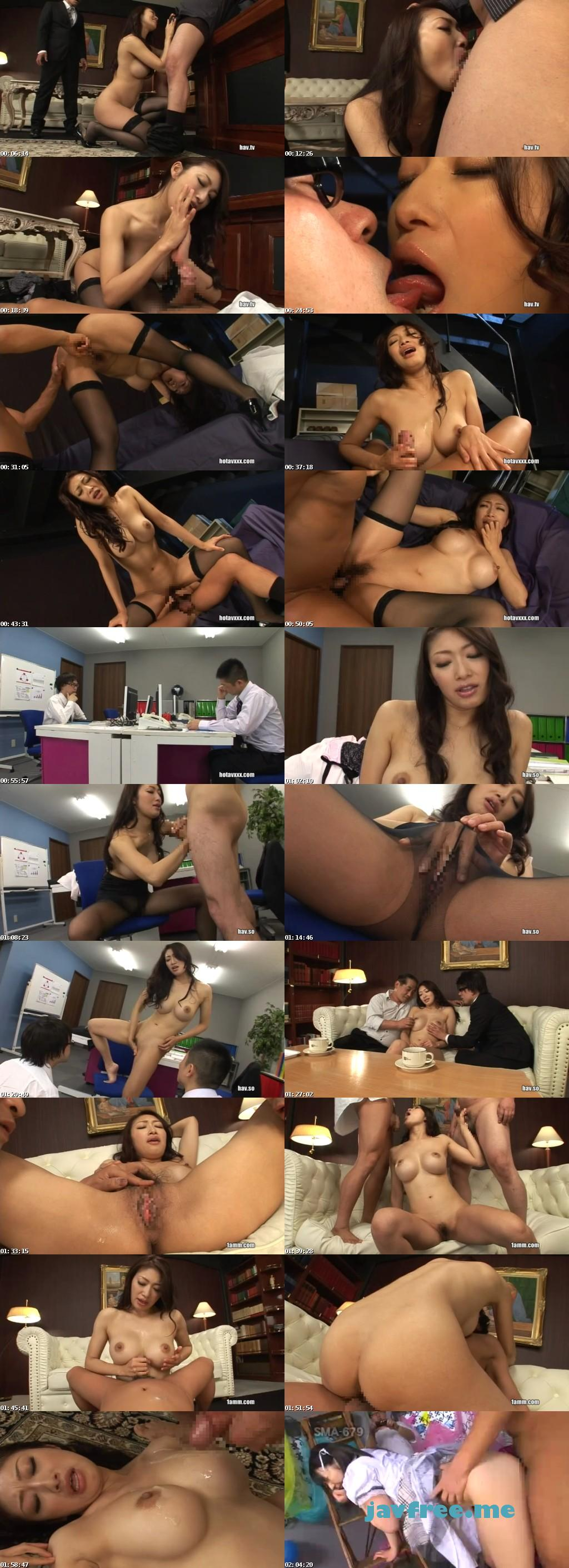 [SMA 688] ビジネス淫語とグラマラス秘書 小早川怜子 小早川怜子 SMA