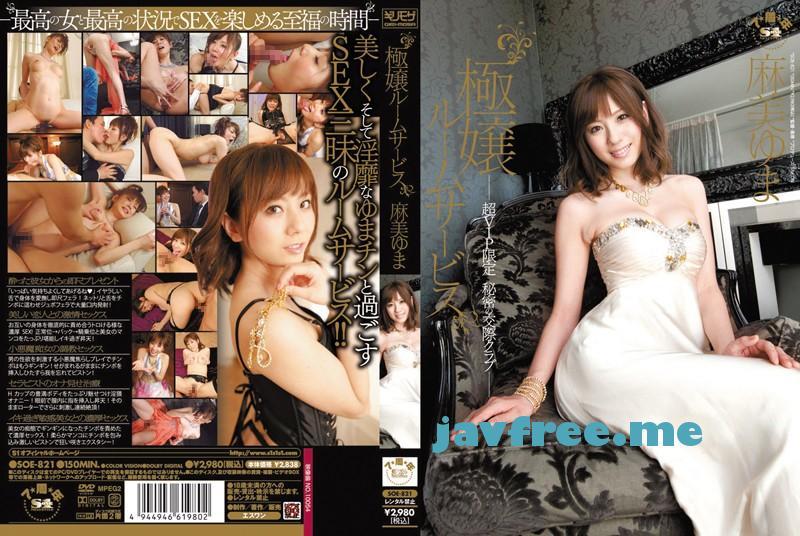 [DVD][SOE 821] 極嬢ルームサービス 超VIP限定 秘密の交際クラブ 麻美ゆま 麻美ゆま SOE