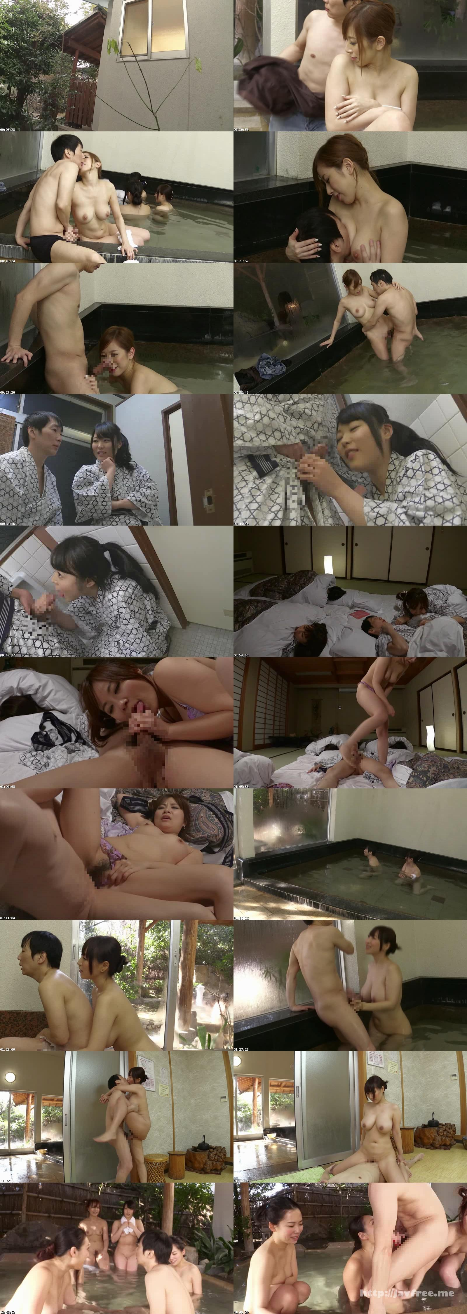 [SW 321] 社員旅行で、女子社員に混じって男は僕一人!混浴風呂で勃起してるのが見つかり、日頃アゴで使われてた僕の元気チ○コは一滴残らず搾り取られました SW