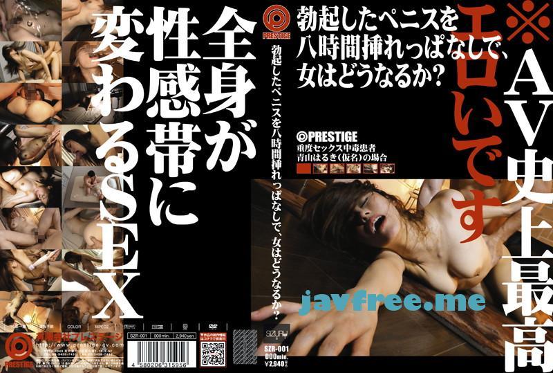 [SZR 001] 勃起したペニスを八時間挿れっぱなしで、女はどうなるか? 青山はるき SZR