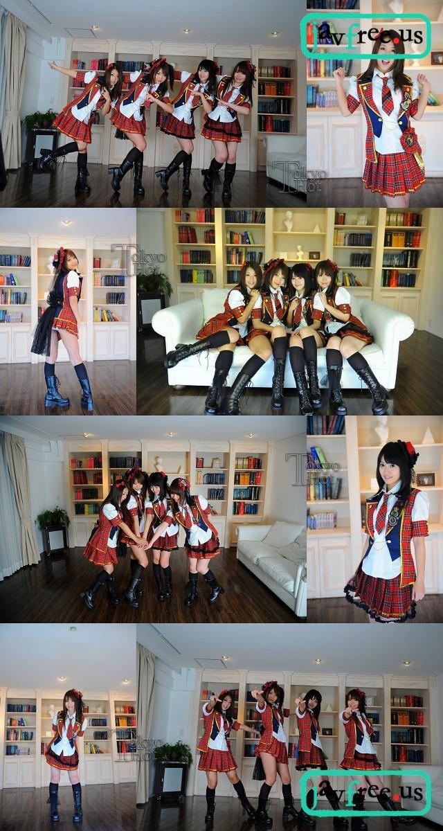 Tokyo Hot n0602 : Special 2010 Part2   Anna,Megumi,Satomi,Ai 鈴木さとみ 酒井杏奈 篠めぐみ 直嶋あい Tokyo Hot Special 2010