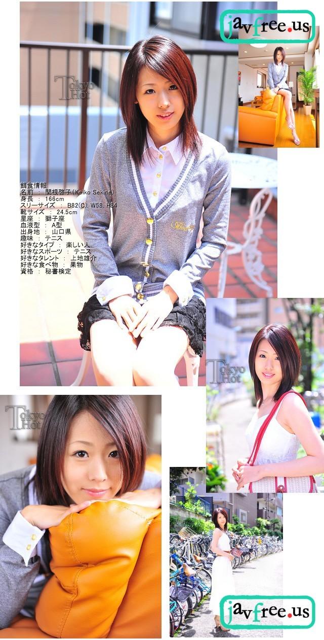 Tokyo Hot n0652 : Semen Baptism   Keiko Sekine 関根啓子 Tokyo Hot Keiko Sekine