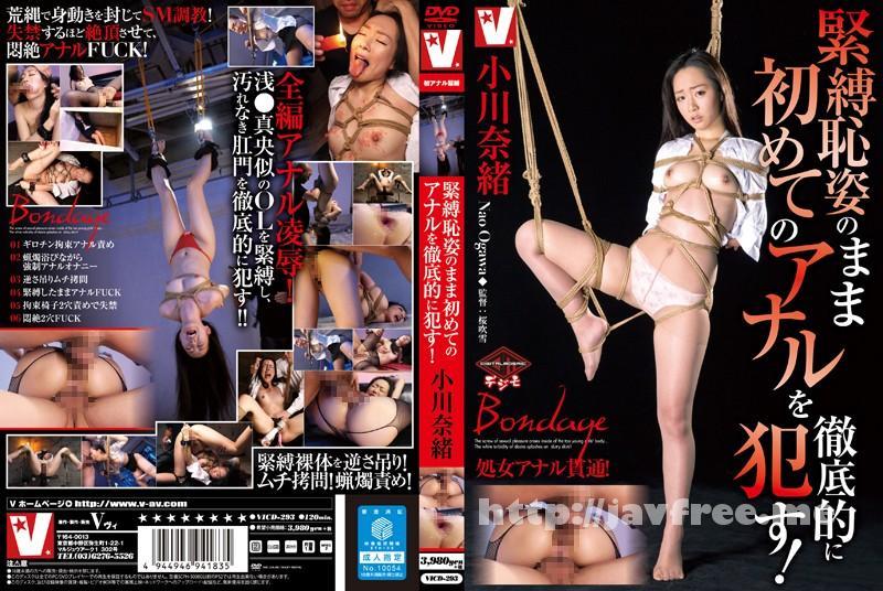 [VICD 293] 緊縛恥姿のまま初めてのアナルを徹底的に犯す! 小川奈緒 小川奈緒 VICD