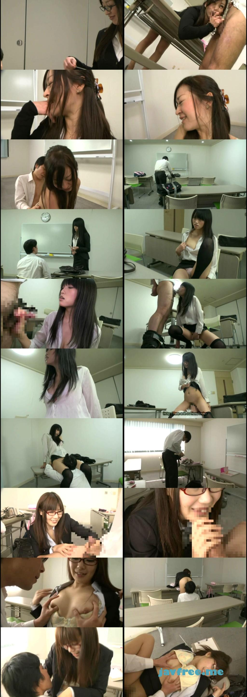 [VIPD 594] 放課後の教室で好きなコの縦笛でセンズリぶっこいてたら、それをガン見していた美人教師が発情した! vipd VIP D