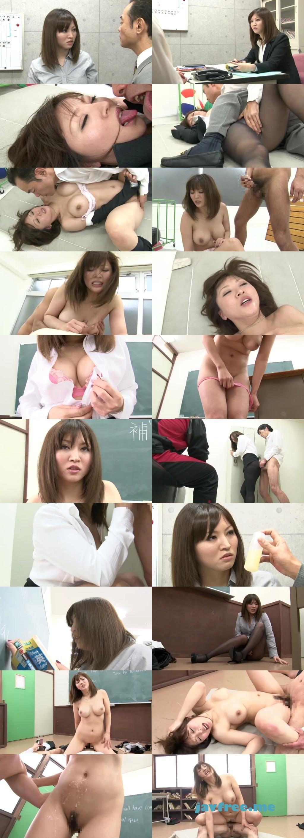 [HBAD 183] 新陵辱女教師 犯され媚薬を塗られ生徒の前で羞恥に堪えるが雌豚と呼ばれるまで堕ちてゆく女教師 当真ゆき 桜井マミ 当真ゆき HBAD