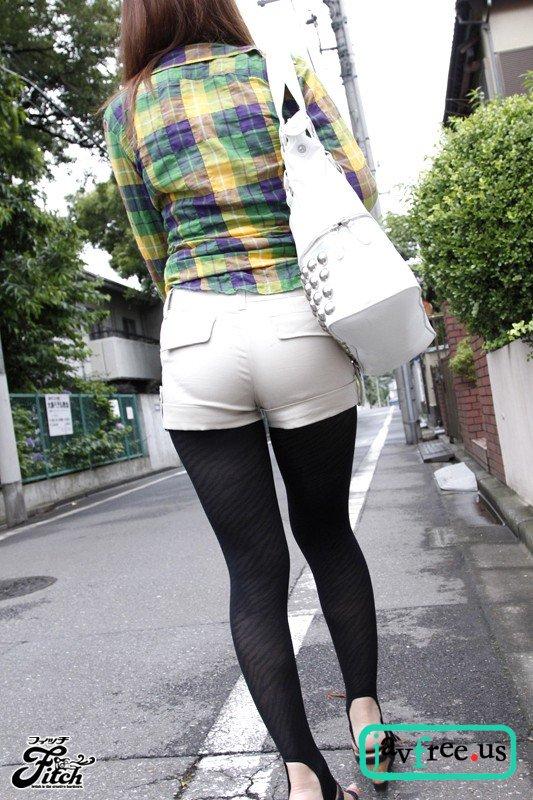 [HD][JUFD 184] 街に溢れるショーパン・トレンカ ムチムチとした美尻と太もものエロス 愛原さえ 愛原さえ JUFD