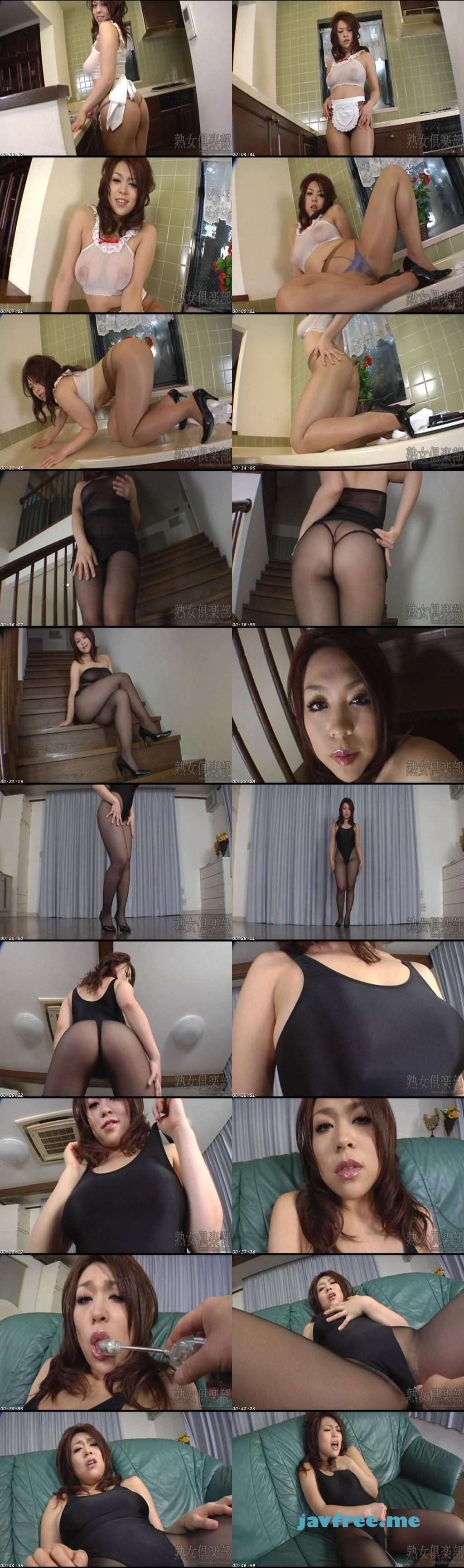 Jukujo club 4099 着エロ美熟女 中森玲子 第2話 熟女倶楽部 中森玲子 Jukujo club